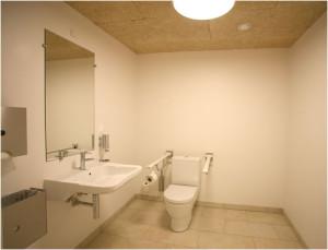 Hvidovre Kirke - nemt tilgængeligt toilet